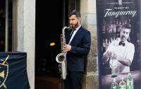 Saxofonista Tiago Vigia